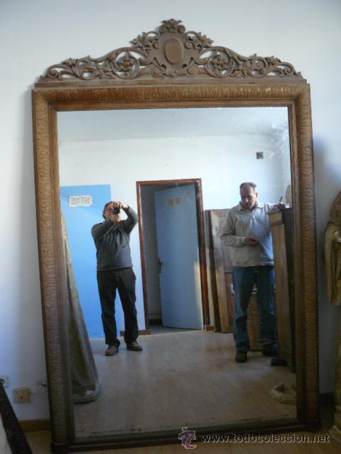 Impresionante espejo de grandes dimensiones comprar - Espejos antiguos grandes ...