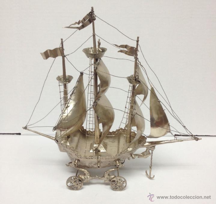 Barco de plata ley comprar plata de ley antigua en - Antiguedades de barcos ...