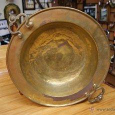 Antigüedades: ANTIGUO BRASERO DIÁMETRO 53 CM. Lote 40519270