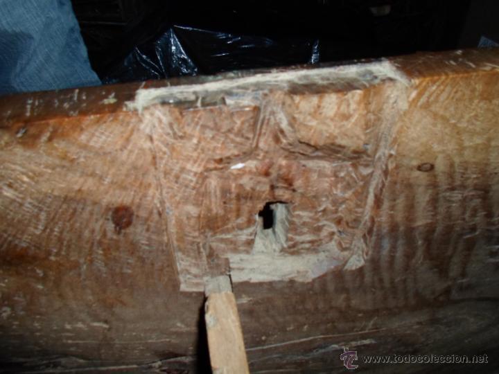 Antigüedades: Arca de nogal de dos cerraduras SXVII. - Foto 24 - 40527949