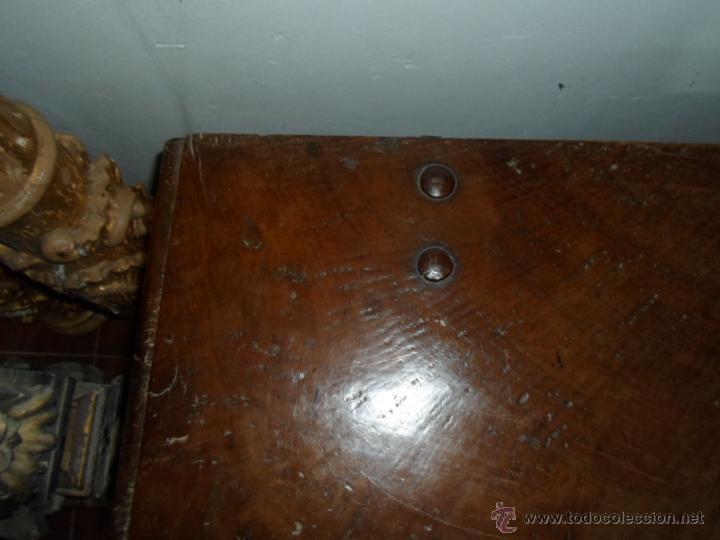 Antigüedades: Arca de nogal de dos cerraduras SXVII. - Foto 27 - 40527949