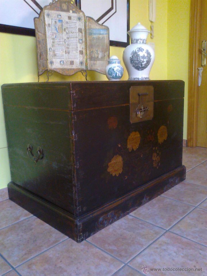 Antigüedades: ARCON BAUL . MUEBLE - Foto 4 - 26825451