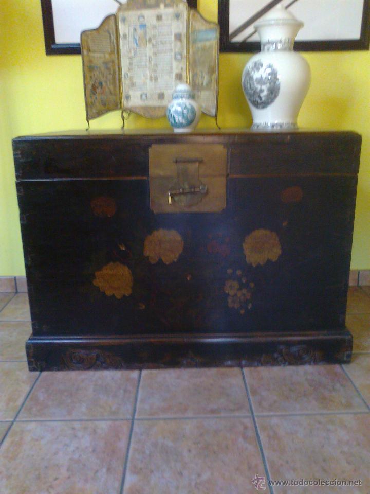 Antigüedades: ARCON BAUL . MUEBLE - Foto 5 - 26825451