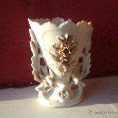 Antigüedades: FLORERO ANTIGUO PORCELANA. Lote 40544768