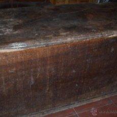 Antigüedades: ARCA DE NOGAL SXVII.. Lote 40567986
