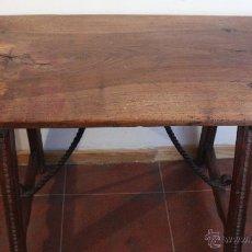 Antigüedades: MESA DE BARGUEÑO DEL SXVII.. Lote 40583070