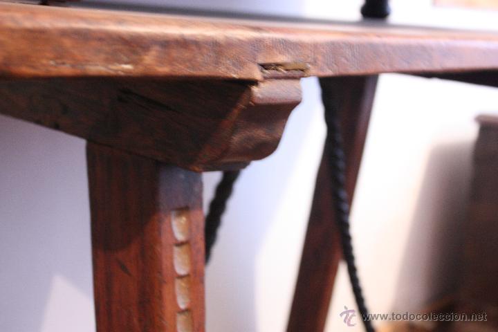 Antigüedades: Mesa de bargueño del SXVII. - Foto 4 - 40583070