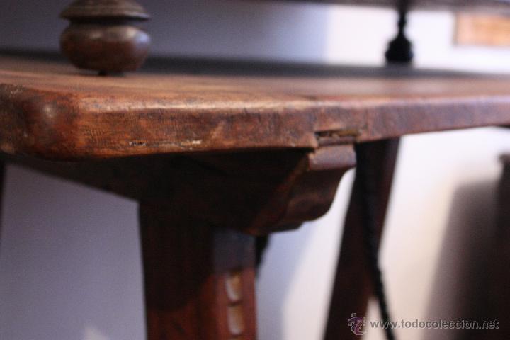 Antigüedades: Mesa de bargueño del SXVII. - Foto 5 - 40583070