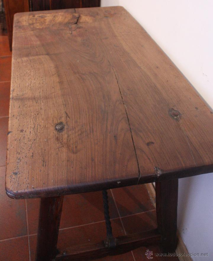Antigüedades: Mesa de bargueño del SXVII. - Foto 8 - 40583070