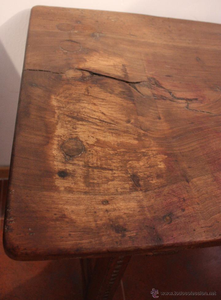 Antigüedades: Mesa de bargueño del SXVII. - Foto 10 - 40583070