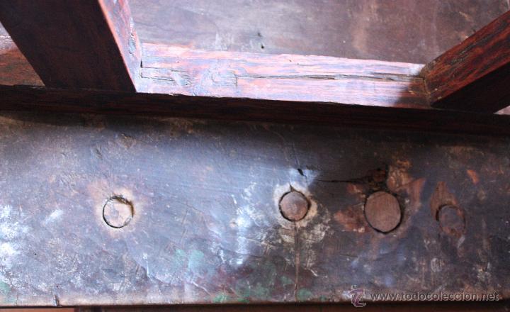 Antigüedades: Mesa de bargueño del SXVII. - Foto 17 - 40583070