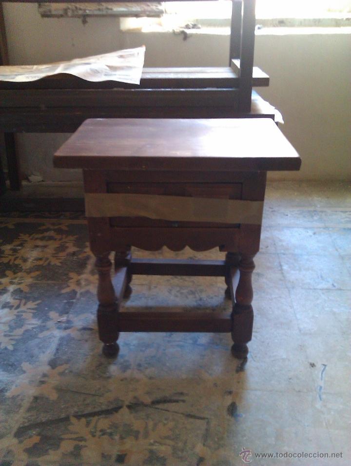 PAREJA DE MESILLAS (Antigüedades - Muebles Antiguos - Mesas Antiguas)
