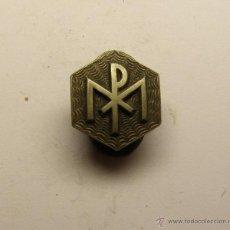 Antigüedades: MEDALLA INSIGNIA RELIGIOSA.. Lote 40601091