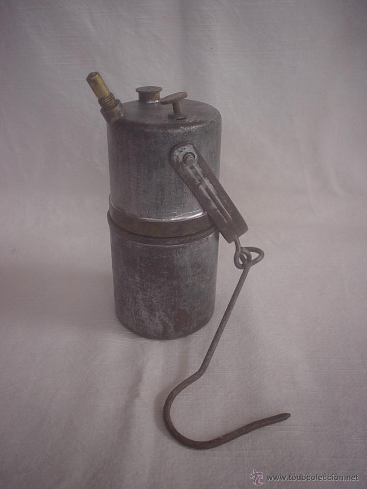 Lampara carburo comprar utensilios del hogar antiguos en for Utensilios del hogar
