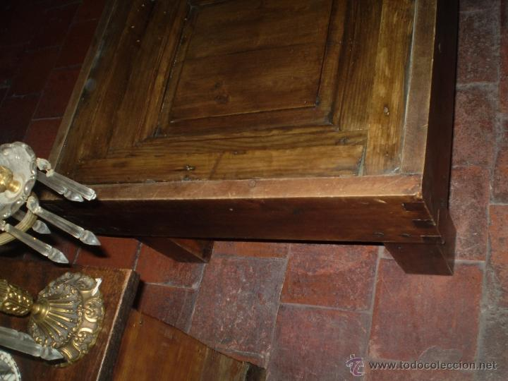 Antigüedades: MESA REHECHA DE PINO - Foto 6 - 40632900