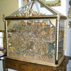 Antigüedades: MARAVILLOSA URNA CONVENTUAL DE TALLA S-XVIII. Lote 40641508