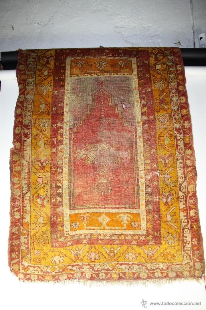 Antigua alfombra afgana de finales s xix 150x comprar for Alfombras de antigua