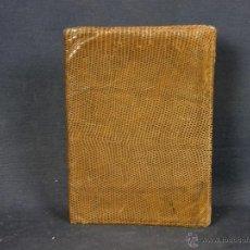 Antigüedades: CARTERA PIEL DE LAGARTO O SIMILAR MUY BUEN TACTO Y PULIDO USADA AÑOS 50. Lote 40643514