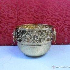 Antigüedades: MACETERO DE METAL. Lote 40653841