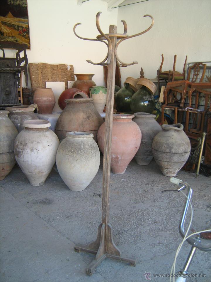Antigüedades: Enorme tinaja antigua de barro, medida 110 cm. altura - boca 49 cm. peso aprox. 80 - 90 kilos - Foto 4 - 40664109