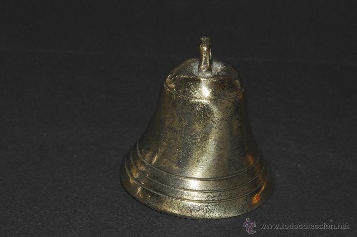 Antigüedades: CAMPANA EN BRONCE CON BADAJO - Foto 3 - 40672270