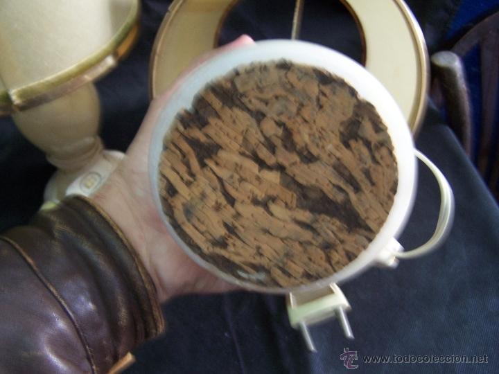 Antigüedades: Dos lamparas antiguas de mesa, creo de alabastro, todo original - Foto 9 - 40673864