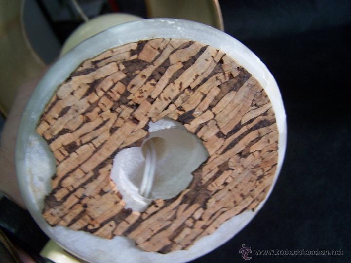 Antigüedades: Dos lamparas antiguas de mesa, creo de alabastro, todo original - Foto 12 - 40673864