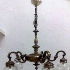 Antigüedades: LAMPARA DE TECHO ANTIGUA.. Lote 40674877