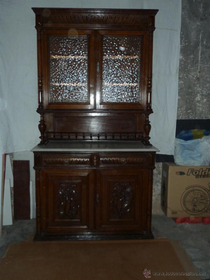 Armario Multiuso Casas Bahia ~ aparador vitrina alfonsino Comprar Vitrinas Antiguas en todocoleccion 40676376