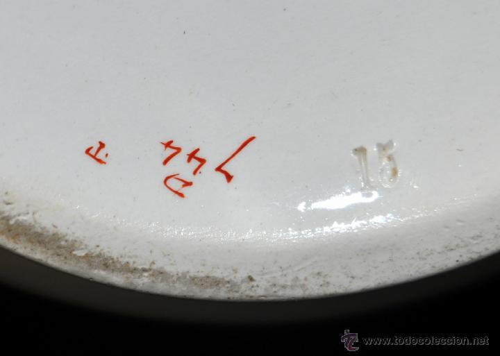 Antigüedades: PRECIOSA JARRA O AGUAMANIL EN PORCELANA DE MANUFACTURA FRANCESA. EXCELENTE ESTADO - Foto 4 - 40700828