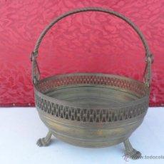 Antigüedades: CENTRO DE MESA METAL. Lote 40705012
