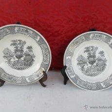 Antiquitäten - pareja de platos - 40708995