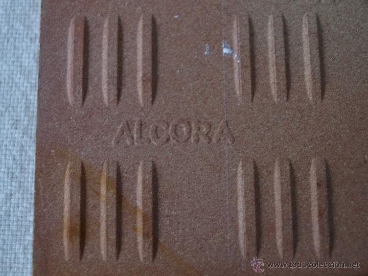 Antigüedades: AZULEJO ALCORA. SANTA QUITERIA 1981. ALMAZORA. 15 X 15 CM. VER FOTOS. - Foto 8 - 40711661