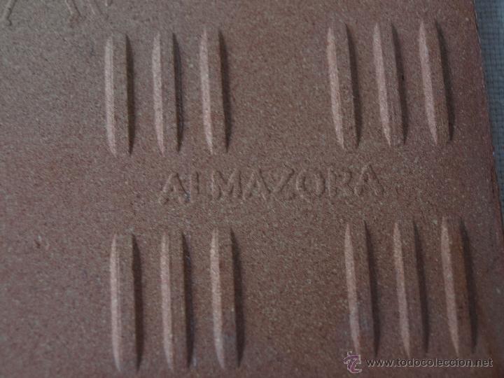 Antigüedades: AZULEJO ALCORA. SANTA QUITERIA 1981. ALMAZORA. 15 X 15 CM. VER FOTOS. - Foto 10 - 40711661