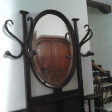 Antigüedades: ANTIGUO PARAGÜERO-MUEBLE RECIBIDOR, PARAGÜERO-MUEB. Lote 40716122