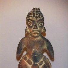 Antigüedades: FIGURA AZTECA DE CERÁMICA. Lote 40728952