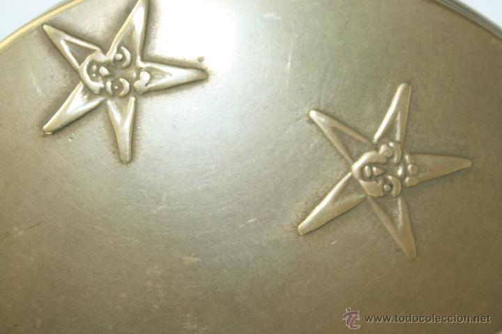 Antigüedades: ESPLÉNDIDO ESPEJO DE MANO MODERNISTA EN BRONCE, EN , FIN S. XIX, FALTA EL ESPEJO - Foto 4 - 40769078