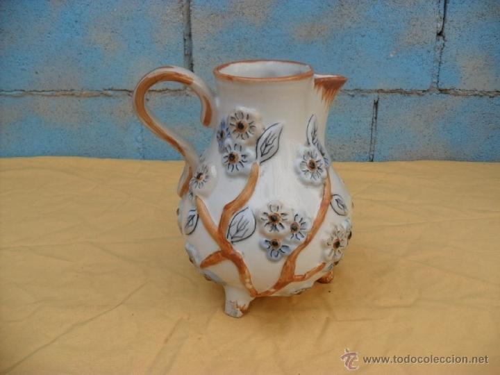 Antigüedades: antigua jarra,ceramica, Manises? - Foto 2 - 40771383