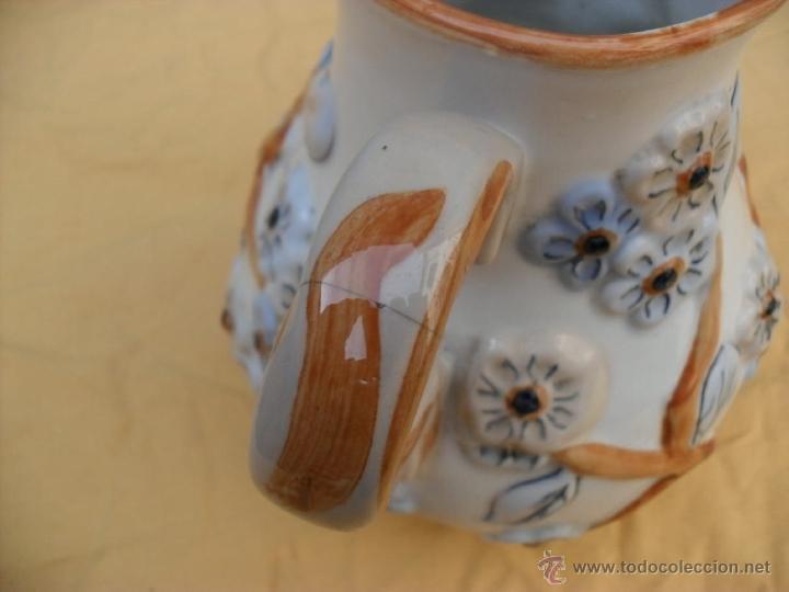 Antigüedades: antigua jarra,ceramica, Manises? - Foto 4 - 40771383
