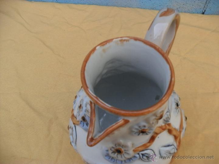 Antigüedades: antigua jarra,ceramica, Manises? - Foto 6 - 40771383