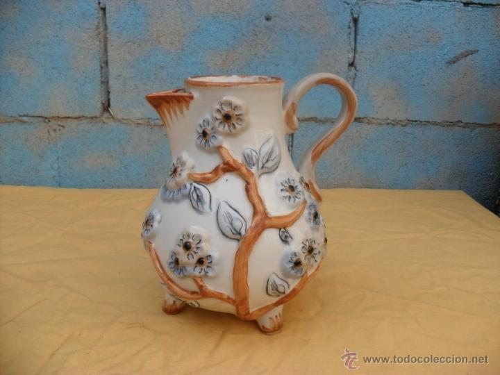 Antigüedades: antigua jarra,ceramica, Manises? - Foto 7 - 40771383