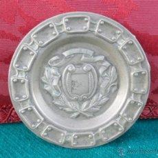 Antigüedades: PEQUEÑO PLATO DE PLATA. Lote 40787721