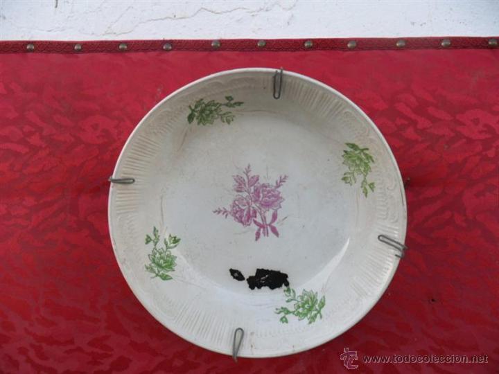 FUENTE DE CERAMICA (Antigüedades - Porcelanas y Cerámicas - Azulejos)