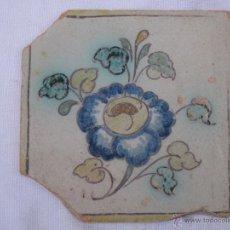 Antigüedades: AZULEJO ANTIGUO DE TALAVERA ( TOLEDO ) - CERAMICA RUIZ DE LUNA.. Lote 40804699
