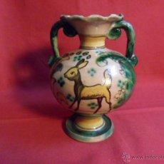 Antigüedades: JARRON-ANFORA DE CERAMICA PUENTE ARZOBISPO - AÑOS 40-. Lote 40807642