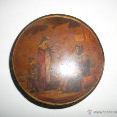 Antigüedades: COFRE MADERA LACADA. Lote 40808650