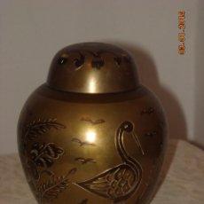 Antigüedades: TIBOR EN BRONCE. Lote 40823728