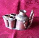 Antigüedades: TINTERO APLICADOR DE GENA. Lote 40845798