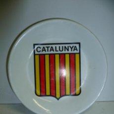 Antigüedades: PLATITO CATALUNYA .11,5 CM DIAMETRO - MARCADO G8.. Lote 40854309