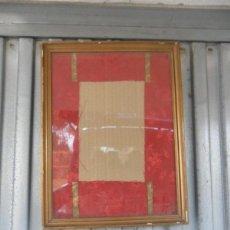 Antigüedades: MARCO DORADO. Lote 40861075
